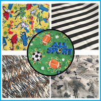 China wholesale baby cloth diaper material multi-functional printed pul fabric