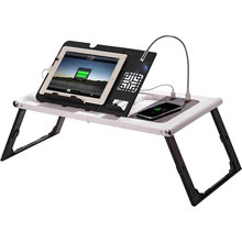 New design height adjust multifunction folding bed laptop table