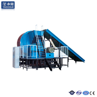tire shredder recycling machine