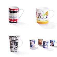 Mugs Drinkware Type and Ceramic Material 11oz sublimation round shape Coffee Mugs for promotional