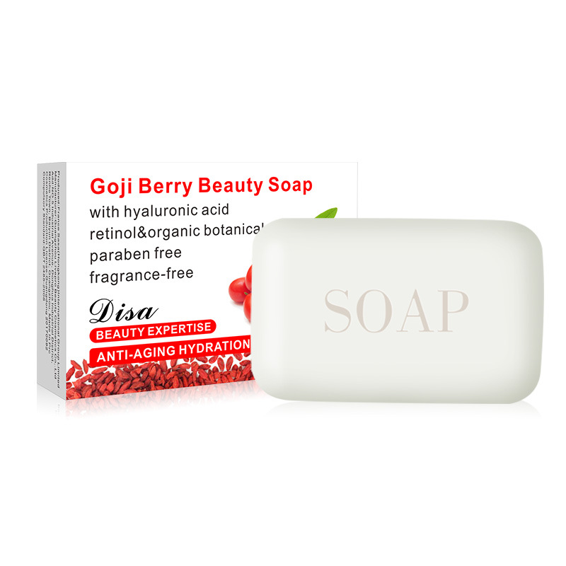 Facial and body moistening whitening soap, medlar soap, whitening and replenishing water
