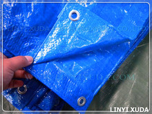 8x8 800D blue pe plastic sheet waterproof truck tarp&waterproof woven fabric tarpaulin