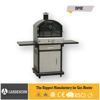 Outdoor gas pizza oven(DPOC) GARDENSUN 16,000BTU with CE,CSA,AGA,ISO
