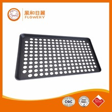 perforated baguette sheet tray/pan