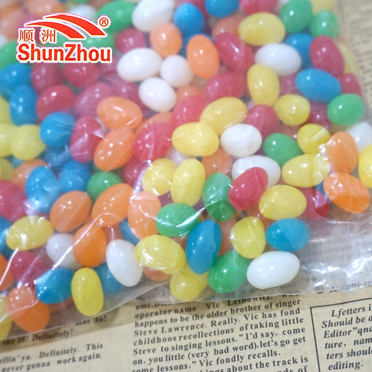 1000g per bag sour fruity chewy colorful Jelly beans