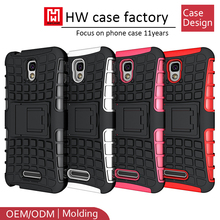 High Impact Hard shell holster Phone Cover for Alcatel Pop 4