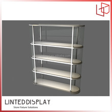 Customized new style glass display case parts