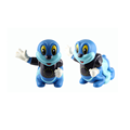 ICTI certificated custom made plastic cartoon animal coin bank