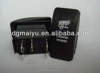 power switch, Rocker Switch ,light switch Lens RS