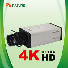Japón Naturaleza 4 K 12MP Sony Ambarella H.264 Full HD <span class=keywords><strong>de</strong></span> <span class=keywords><strong>Red</strong></span> IP caja CCTV Cámara <span class=keywords><strong>de</strong></span> La Ayuda SD Card 64G Audio RS485 Alarma <span class=keywords><strong>BNC</strong></span> POE