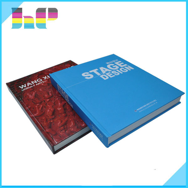 hot design hardcover shrink wrapping book printing for sale