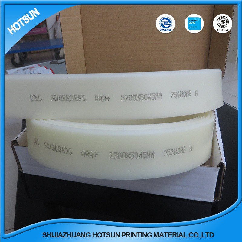 urethane blade 2mmx5mm pu squeegee for silk printing