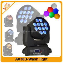 2015 New & Hot stage lighting / dj equipment12*10w rgbwa+uv 6in1 led mini beam wash moving head