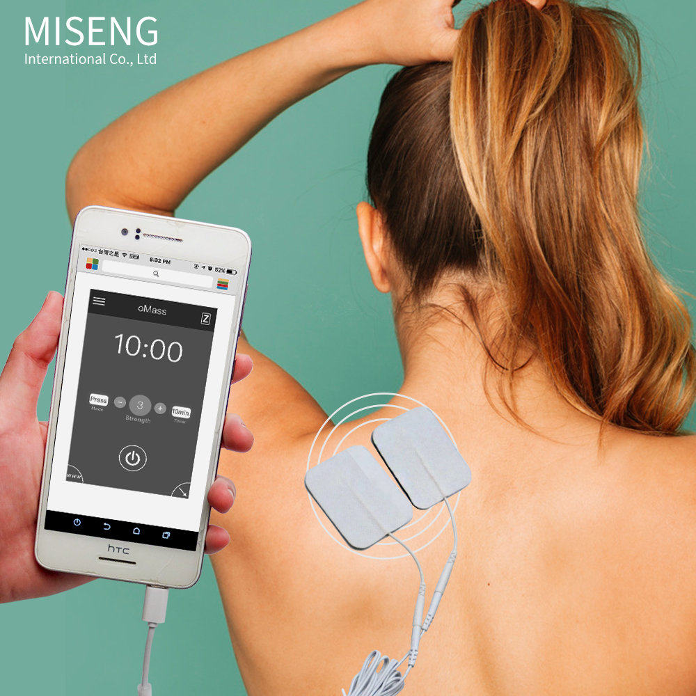 New Best Selling Items Smart Phone APP Tens Electrode Pads Massage