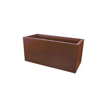 Corten Steel Flower Pot/Garden Planter/Outdoor Decoration
