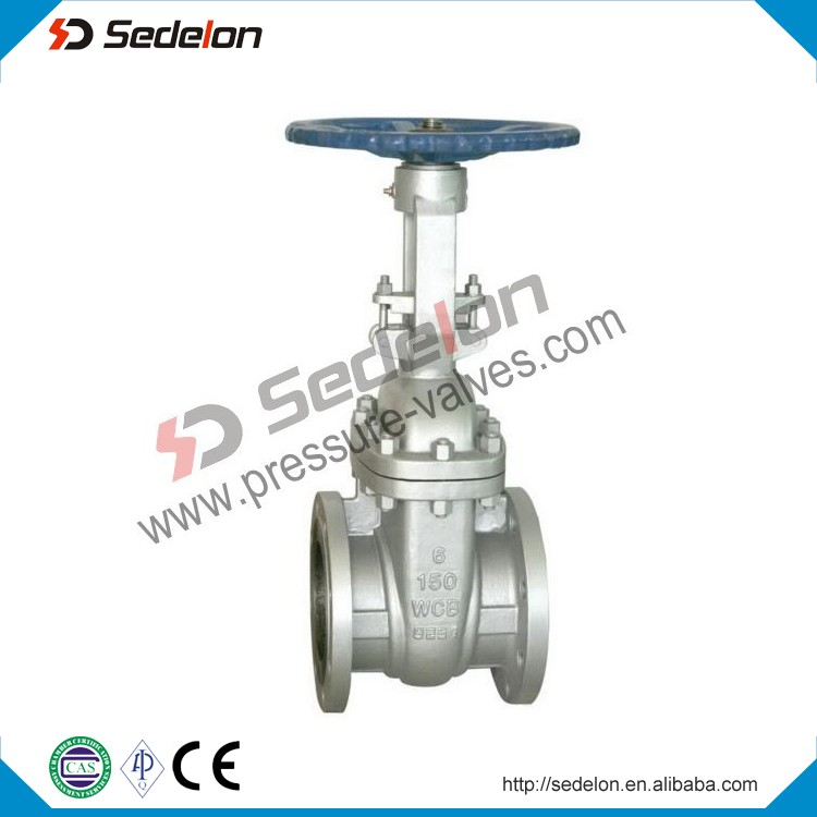 API6D A216WCB Cast Steel Resilient seated Wedge Gate Valve