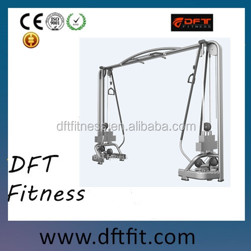 DFT-923 gym equipment Adjustable Cable Crossover/commercial grade gym equipment