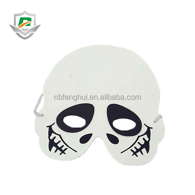 2018 hot sale custom halloween party horror masquerade eva ghost party skull foam mask