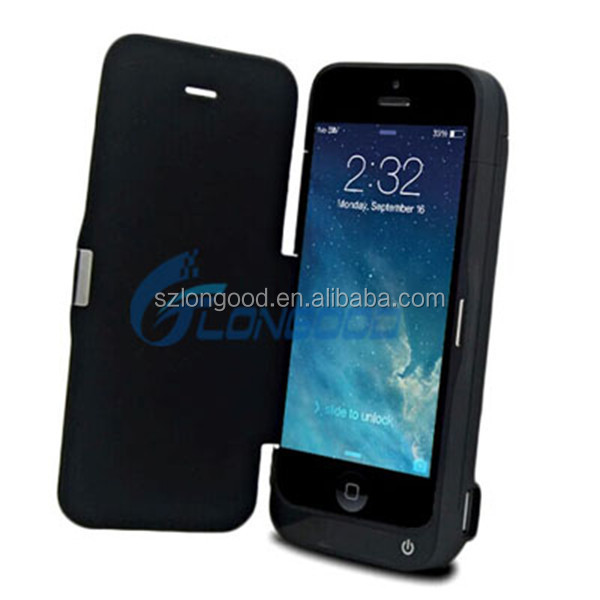 4200mAh External Battery Backup Charger Case pack Power Bank for iPhone 5/5s