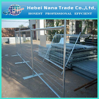 Outdoor metal fence Cheap Hot Dipped Galvanized temporary fence hot sale from China Factory