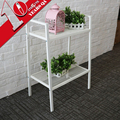 Portable 2 Layer Metal Wire Kitchen Storage Shelf Home Bookshelf Design
