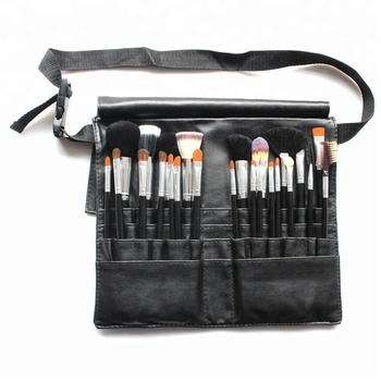 Professional Makeup Brush Artist 24pcs makeup brush set personalized makeup brush belt
