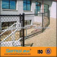 Galvanized Chain Link Fabric /Vinyl Coated Chain Link Fence