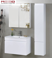 style selections bathroom cabinet furniture with white glossy painting