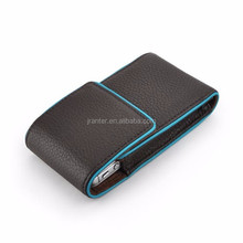Flexible Price Cell Phone Pouch Custom Genuine Leather for iPhone 6 Slim Case