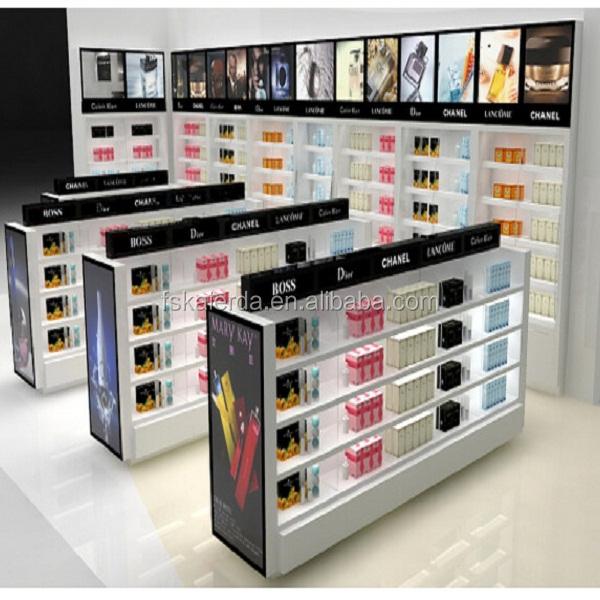 Perfume Display Showcase Perfume Glass Display Stand Glass