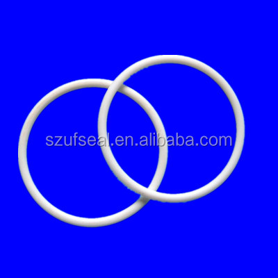 Corrossion Resistance PTFE /Teflon White o ring seals .