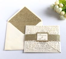 HK83 high end multi-color choices laser cut wedding party invitation <strong>card</strong>