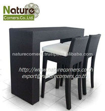 Outdoor Rattan Dining and High Bar Furniture Sets