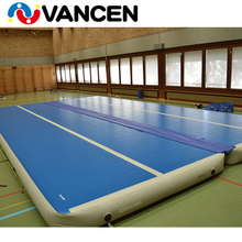 2018 Guangzhou factory new high quality DWF indoor jumping mattress tumbling gymnastics gym mat inflatable air track for sale