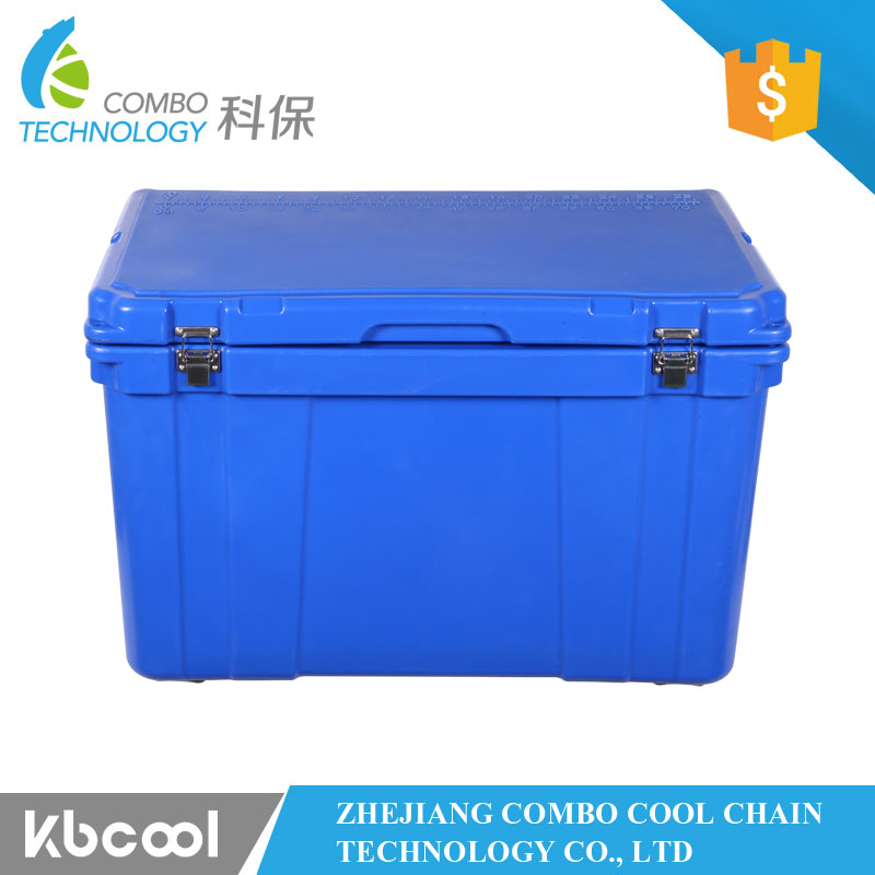 chilly bin outdoor rotomolded plastic ice cooler box PU foam drug blood transportion cooling box