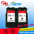 compatible ink cartridge for canon Pg-210XL Cl-211XL chip reset to full level ink cartridge for Canon MG4280
