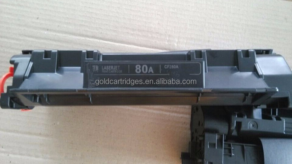 pemium toner cartridges factory supplier original 80A Toner cartridge for hp280A