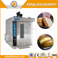 Food Processing Rotary Oven Bread Baking