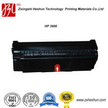 ISO9001 & ISO14001 certificated laser compatible toner cartridge for HP 3906