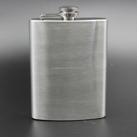 8oz Stainless Steel Hip Flask Gift
