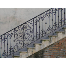 cheap price decorative wrought iron indoor stair railings