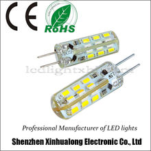 2014 Hot Selling 1.5W 12VDC LED Bulb G4 LED Light 24pcs SMD3014