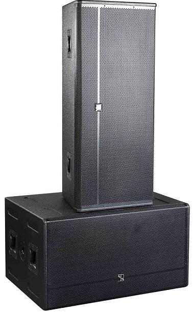 column line array la-h6 waterproof column speakers
