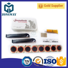 For repairing bike tire and rubber patch tools kits tire repair kit