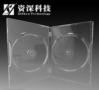 Good Quality PP Slim 7Mm Double Dvd Case