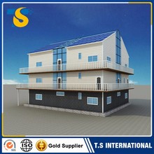 Cheap Prefabricated flatpack villa