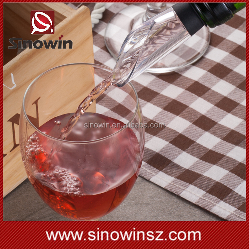 Cold Ice Wine Bottle Chiller Stick 3-in-1 Portable Wine Chille Cooler with Aerator and Pourer