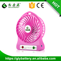 Geilienergy 5V Rechargeable Battery Power Fans