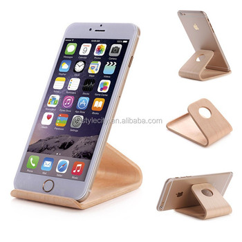 Best Selling for iphone wooden stand Phone Charging Dock bamboo Stand Holder