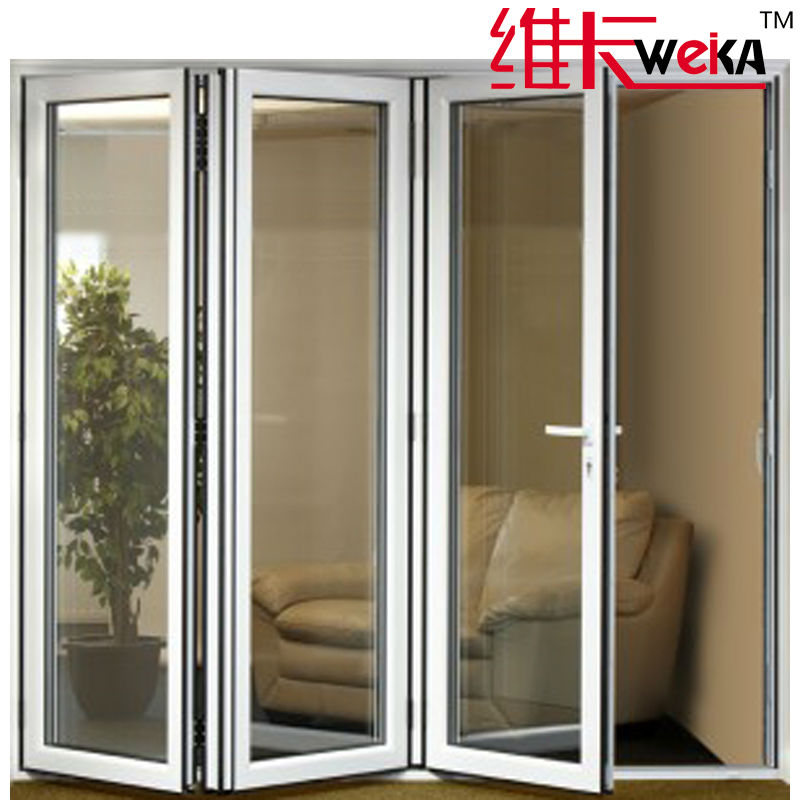 made in China modern pvc folding door